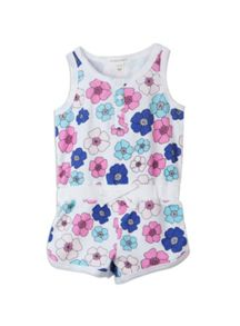 Pumpkin Patch Girls daisy print playsuit