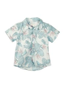 Boys printed ss shirt