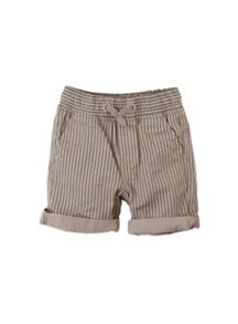 Boys stripe pull on shorts