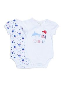 Baby girls 2pk bodysuits