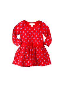 Baby Girls Strawberry Knit Dress