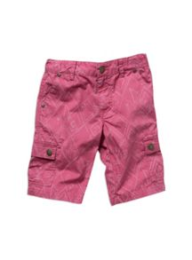 Pumpkin Patch Boys aztec print cargo shorts