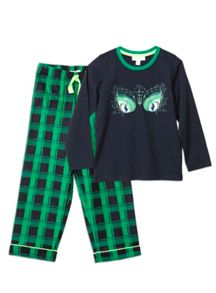 Boys Relaxed Glow Eyes Pjs