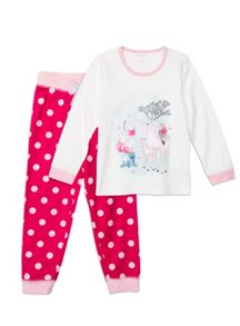 Girls Relaxed Fit Deer Pjs