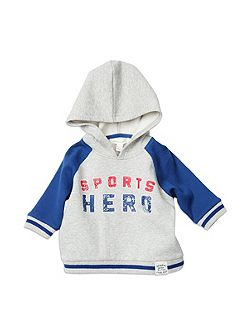 Baby Boys Hooded Jumper