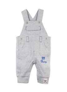Baby Boys Knit Dungarees