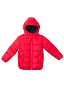 Boys Zip Thru Puffer Jacket