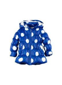 Girls Spot Puffer Jacket