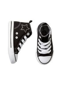 Girls Starry Hi Top