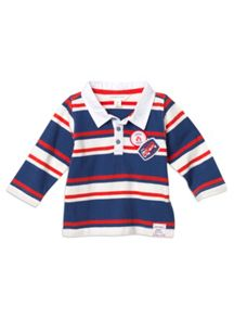 Baby Boys Stripe Rugby Top