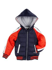Boys Quilted Nylon Baseball Jacket