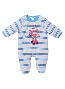 Baby Boys Padded All In One