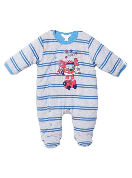 Pumpkin Patch Baby Boys Padded All In One