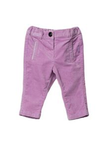 Baby Girls Stretch Velvet Pant