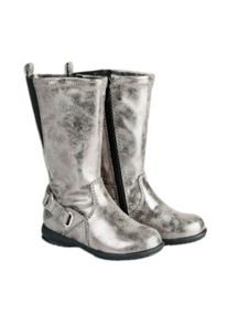 Girls Metallic Tall Boot