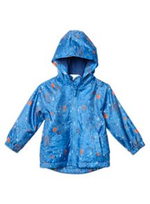 Boys All Over Printed Raincoat