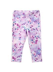Girls Floral Jegging