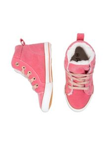 Girls Sherpa Lined High Top