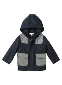 Boys Hooded Duffle Coat