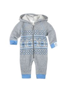 Baby Boys Fairisle All In One