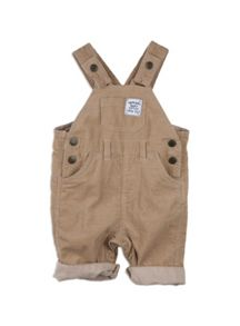 Baby Boys Cord Dungarees