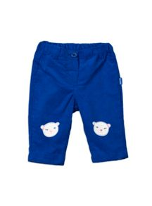 Baby Girls Teddy Face Jeans