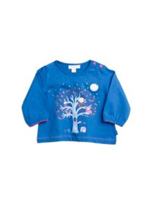Pumpkin Patch Baby Girls Owl  Top
