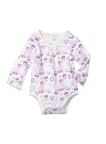Baby Girls Owl Family Bodysuit