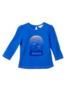 Pumpkin Patch Girls Printed Long Sleeve Top