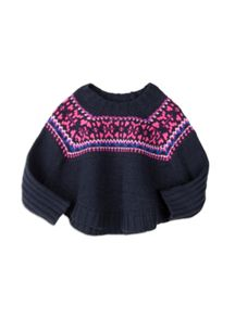 Girls Fairisle Knit Jumper