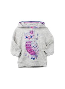 Pumpkin Patch Girls Owl Sweat