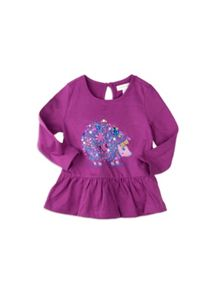 Pumpkin Patch Girls Hedgehog Top