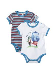 Pumpkin Patch Boys 2pk Bodysuits
