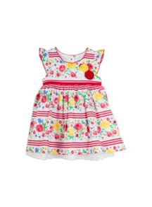 Girls Rose Stripe Dress