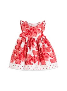 Girls Big Rose Dress