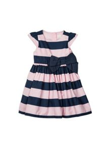 Pumpkin Patch Girls Wide Stripe Dress