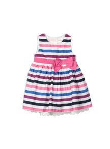 Pumpkin Patch Baby Girls Big Bow Dress