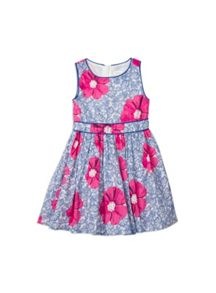 Girls Printed Dress