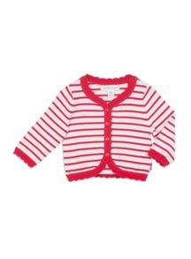 Girls Stripy Cardigan