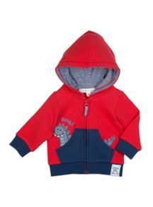 Boys Dino Applique Jacket