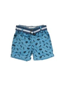 Pumpkin Patch Boys Printed Dino Shorts