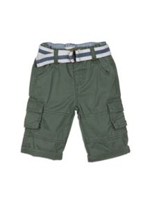 Boys Belted Cargo Pants