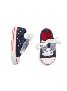 Pumpkin Patch Girls Venice Spotty Sneaker