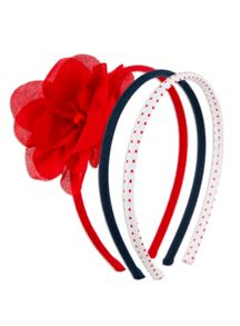 Girls 3pk Venice Headbands