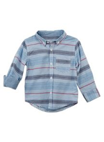 Boys Stripe Long Sleeve Shirt