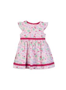 Pumpkin Patch Girls Ditty Floral Dress