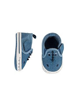 Boys Baby Crocodile Slip On