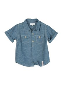 Pumpkin Patch Boys Textured Shirt