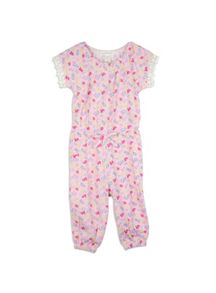 Pumpkin Patch Girls Printed Jumpsuit