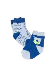 Pumpkin Patch Boys Baby Boys 2pk Rhino Socks